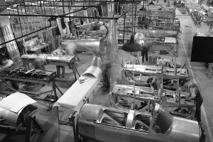 de Havilland DHC-1 Chipmunk in Production